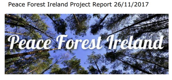 Peace Forest Ireland Project 2017